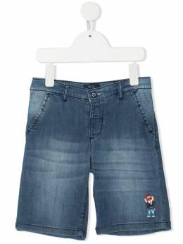 Harmont & Blaine Junior джинсовые шорты с вышивкой 202TJW003