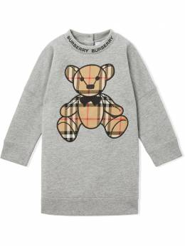 Burberry Kids платье-свитер Thomas Bear 8032834
