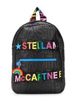 Stella McCartney Kids стеганый рюкзак с логотипом 601361SPK87