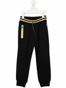 Paul Smith Junior спортивные брюки с полосками 5R23552