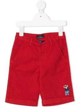 Harmont & Blaine Junior шорты с нашивкой-логотипом 202TJW004