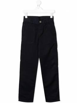 Lanvin Enfant прямые брюки чинос N24007