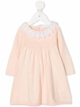 Chloe Kids платье с вышивкой на воротнике C0227445F
