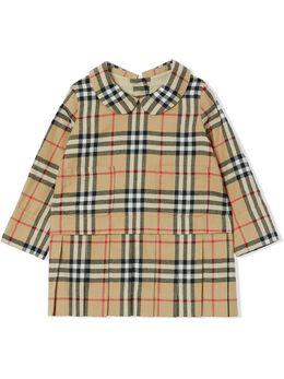 Burberry Kids платье в клетку House Check 8032729