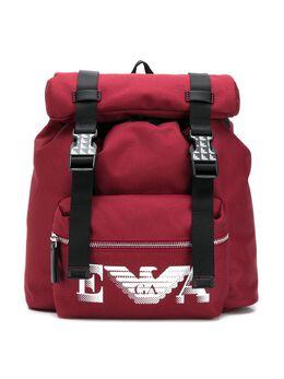 Emporio Armani Kids рюкзак с пряжками 4025210A55100173