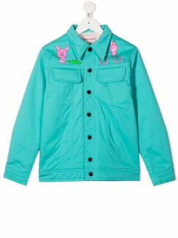 Natasha Zinko Kids куртка с принтом FW20MNZ40281I