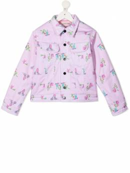 Natasha Zinko Kids куртка с принтом FW20MNZ40124I