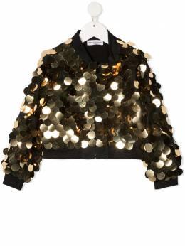 Sonia Rykiel куртка-бомбер с пайетками 20W1OU13