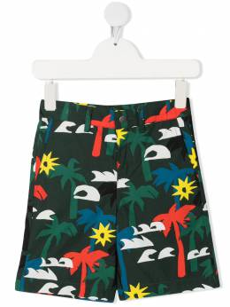 Stella McCartney Kids шорты с принтом 602318SQK38
