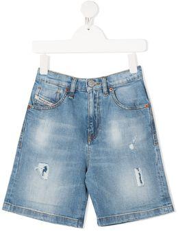 Diesel Kids джинсовые шорты 00J4QWKXB8Q