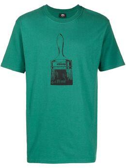 Stussy футболка с графичным принтом 1954577