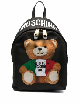 Moschino рюкзак с принтом Teddy Bear A76338213