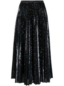 Joseph плиссированная юбка Sparkle с пайетками JP001080