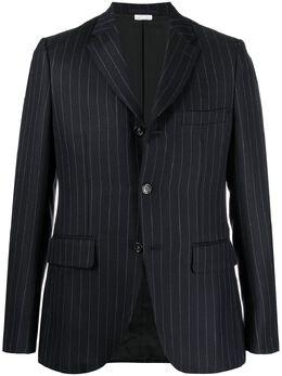 Comme Des Garcons Homme Deux пиджак строгого кроя в полоску DFJ022