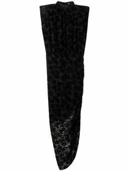 Veronica Beard жаккардовое платье асимметричного кроя 2010NP0102705