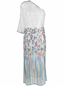 Missoni Mare прозрачное платье асимметричного кроя MMQ00188BR00C8