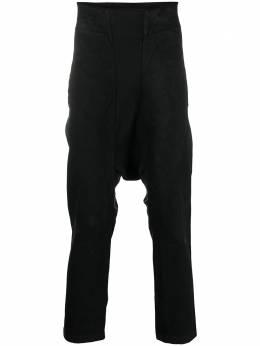 11 By Boris Bidjan Saberi зауженные брюки с низким шаговым швом P19F147505