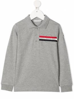Moncler Enfant рубашка поло с полосками G19548B709208496W