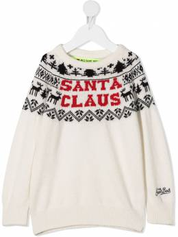 Mc2 Saint Barth Kids джемпер Santa Claus DOU0001RESA10T