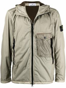 Stone Island куртка Lamy Flock на молнии 731543035