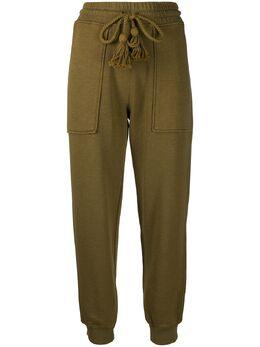Ulla Johnson спортивные брюки с кисточками PS210709