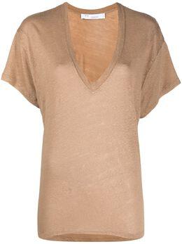 Iro футболка с V-образным вырезом 21SWP19HELOISE