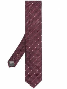 Canali жаккардовый галстук 18HX03200
