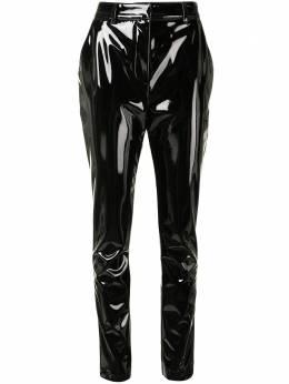Victoria Beckham брюки кроя слим с завышенной талией 1121WTR002402A