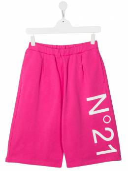 No.21 Kids шорты с логотипом N21050N0156