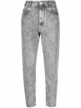 Isabel Marant Etoile укороченные джинсы из вареного денима PA185421P019E