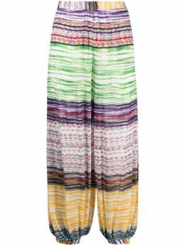 Missoni Mare пляжные брюки с вышивкой MMI00025BR00C5