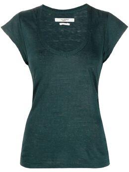 Isabel Marant Etoile футболка с U-образным вырезом TS069421P045E