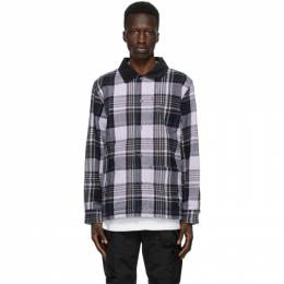 Vans Reversible Purple Anderson .Paak Edition Plaid Chore Coat VN0A5FFT448