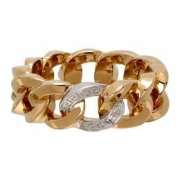 Versace Gold Medusa Chain Ring DG5I020 DJMT