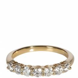 Tiffany & Co. Embrace Diamond 18K Yellow Gold Ring Size 51 369085