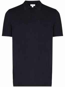 Sunspel рубашка-поло Riviera MPOL1026BUAA