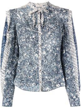 Ulla Johnson блузка Nara PS210210