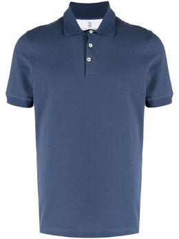 Brunello Cucinelli рубашка поло с короткими рукавами M0T638116C9606
