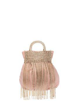 Rosantica мини-сумка Follie с бахромой из кристаллов B398ORROSS