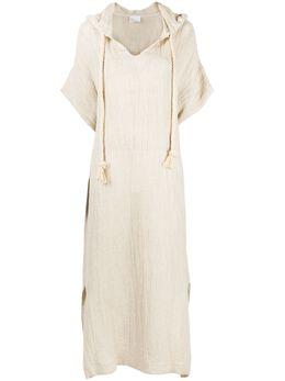 Lisa Marie Fernandez платье миди с завязками и капюшоном 2020HS311