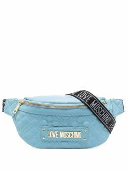 Love Moschino стеганая поясная сумка с логотипом JC4003PP1CLA0