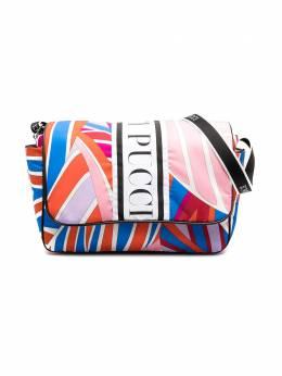 Emilio Pucci Junior пеленальная сумка с логотипом 9O0588OC520
