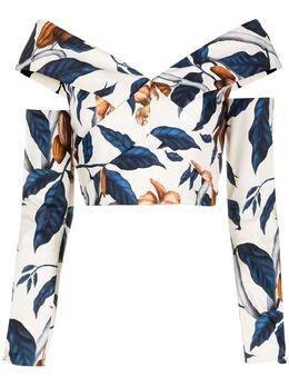Johanna Ortiz блузка с принтом B1479AE