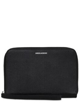 Кожаный Клатч С Логотипом Dsquared2 73I06X023-MjEyNA2