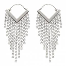 Isabel Marant Silver Melting Earrings 21PBL0906-21P013B
