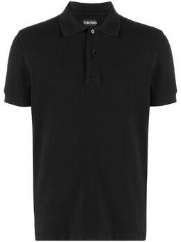 Tom Ford рубашка поло из ткани пике BW266TFJ982