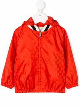 Gucci Kids куртка на молнии с узором GG 498475XBC69