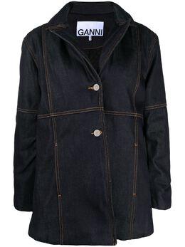 Ganni джинсовая куртка оверсайз F5466