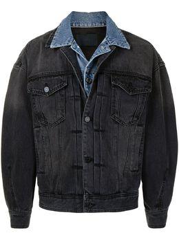 Juun.J многослойная джинсовая куртка JC1139PDA5