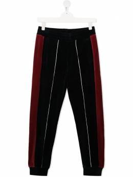 Emporio Armani Kids спортивные брюки в двух тонах 6H4P971JDPZ